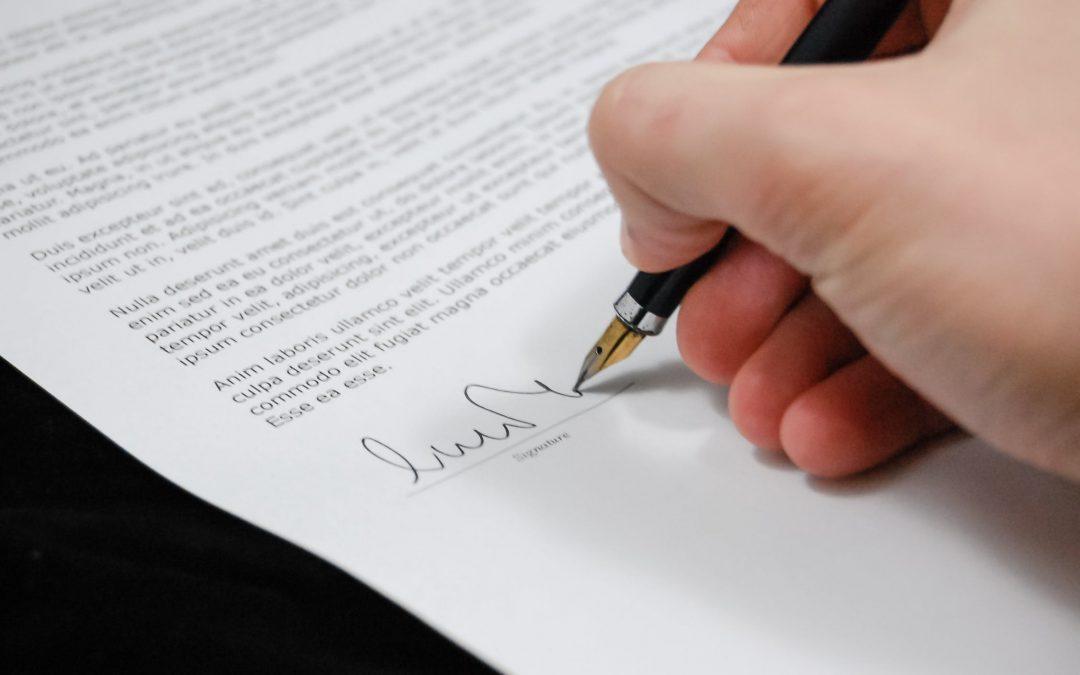 Waarom legaliseren handtekening?
